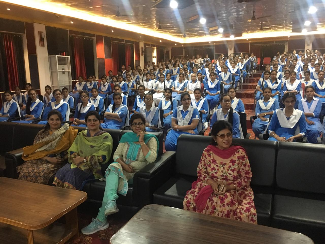 Seminar on Cervical Cancer organised at DPS Faridkot May 6, 2019