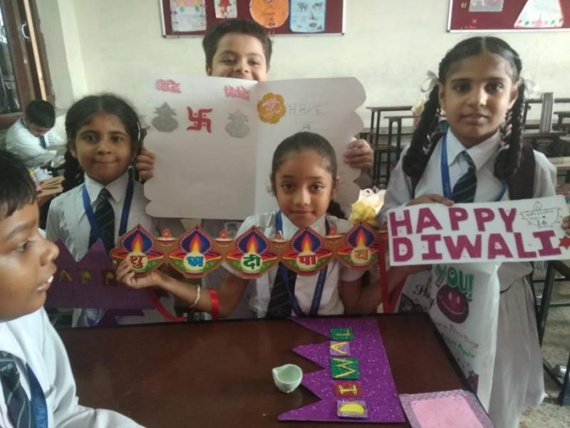 Diya and Candle Decoration Activities