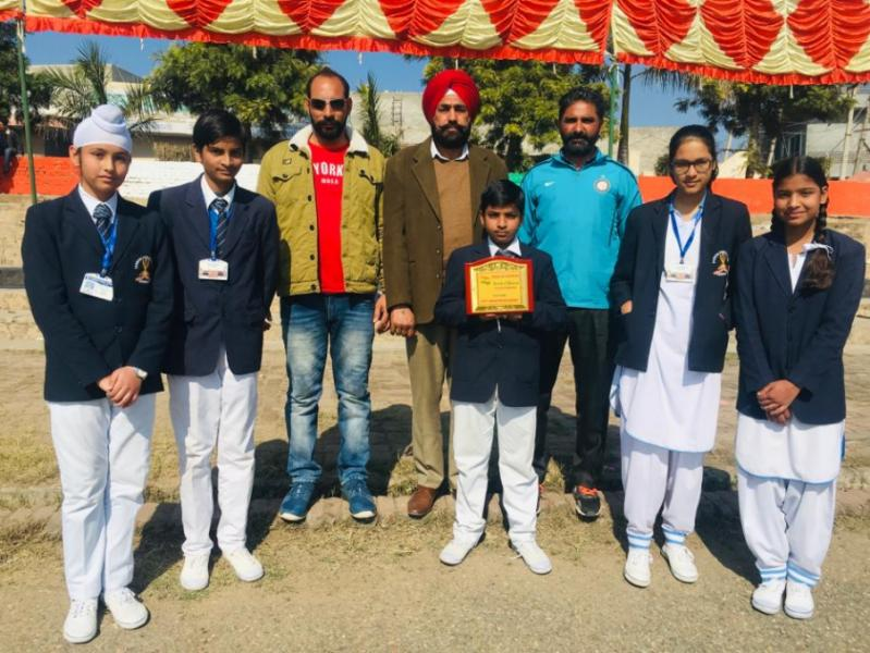 PT Students honored at Nehru Stadium on Republic Day