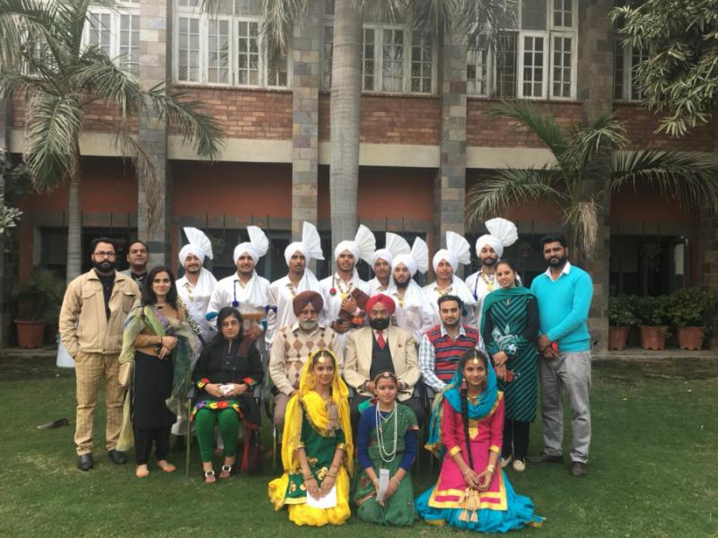 Punjabi Folk performances shortlisted for State Level Dec., 2018