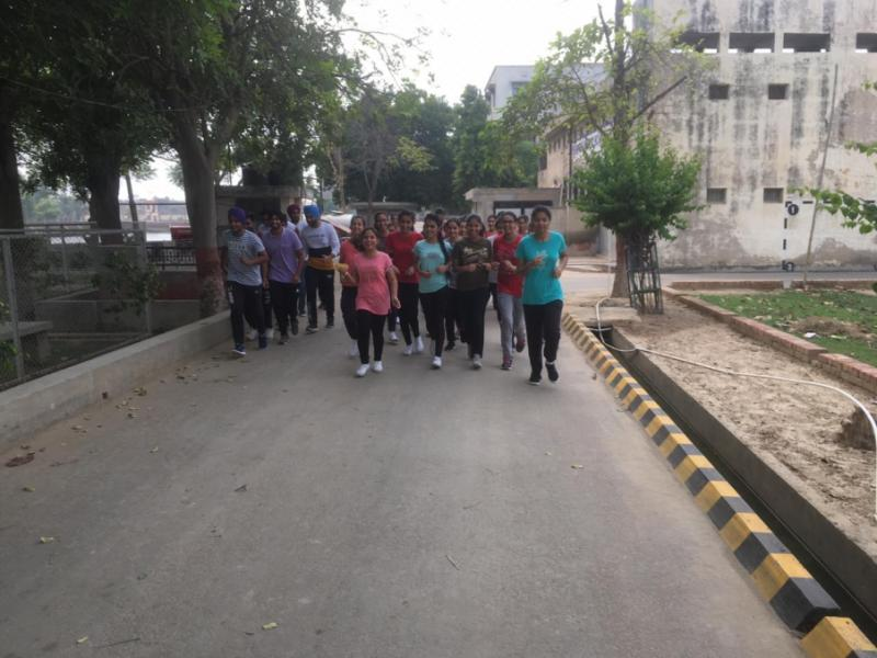 Fit India 2km Plogging